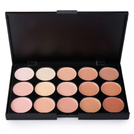 Ktaxon Face Concealer Palette Makeup Foundation Acne Repair Cream Face Powder 15