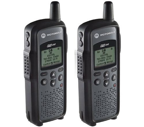 Motorola DTR-410 (2 Pack) Digital 2-Way Radio