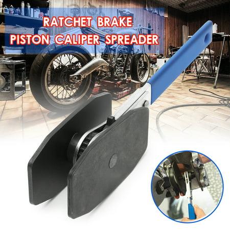 Auto Car Ratchet Brake Caliper Piston Press Spreader Twin Quad