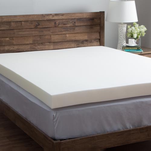 Comfort Dreams Ultra Soft 4 Inch Memory Foam Mattress Topper Walmart Com