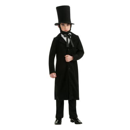 Abraham Lincoln President Boys Costume R884719 - Medium (8-10) for $<!---->