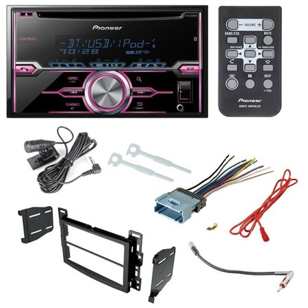 pioneer fh-x720bt aftermarket car radio receiver stereo cd player dash  install mounting kit +