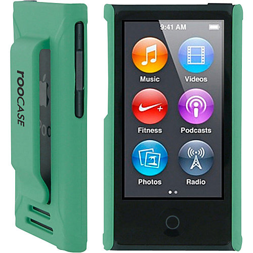 iPod Nano 7 - rooCASE Ultra Slim Fit Shell Case Cover for Apple iPod Nano 7 (7th Generation)