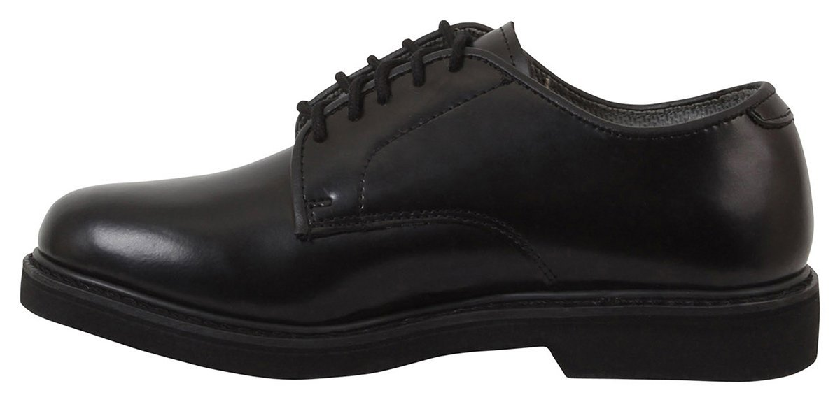 Rothco Military Uniform Soft Sole Oxford Leather Shoes - Black 2267271c53d