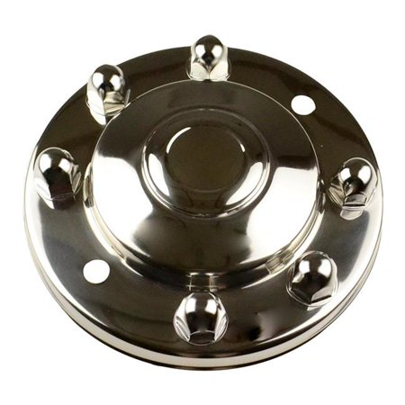 Dicor D6J-VAC8275FHC 2004-2014 Ford F53 Single Front Hub Cover - Ford F53 Motorhome Chassis