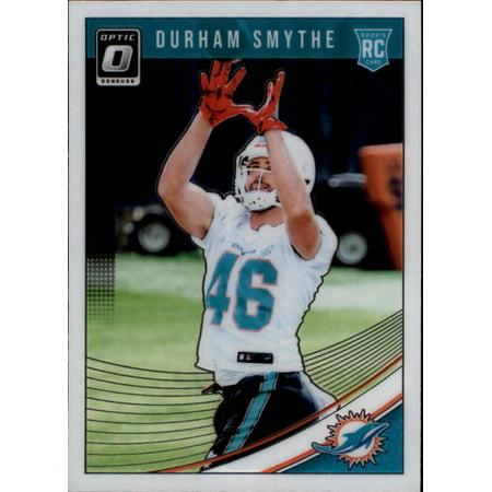 2018 Donruss Optic #135 Durham Smythe Miami Dolphins Rookie Football Card - Dolphin One Card