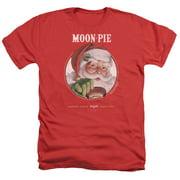 Moon Pie Snacks For Santa Mens Heather Shirt