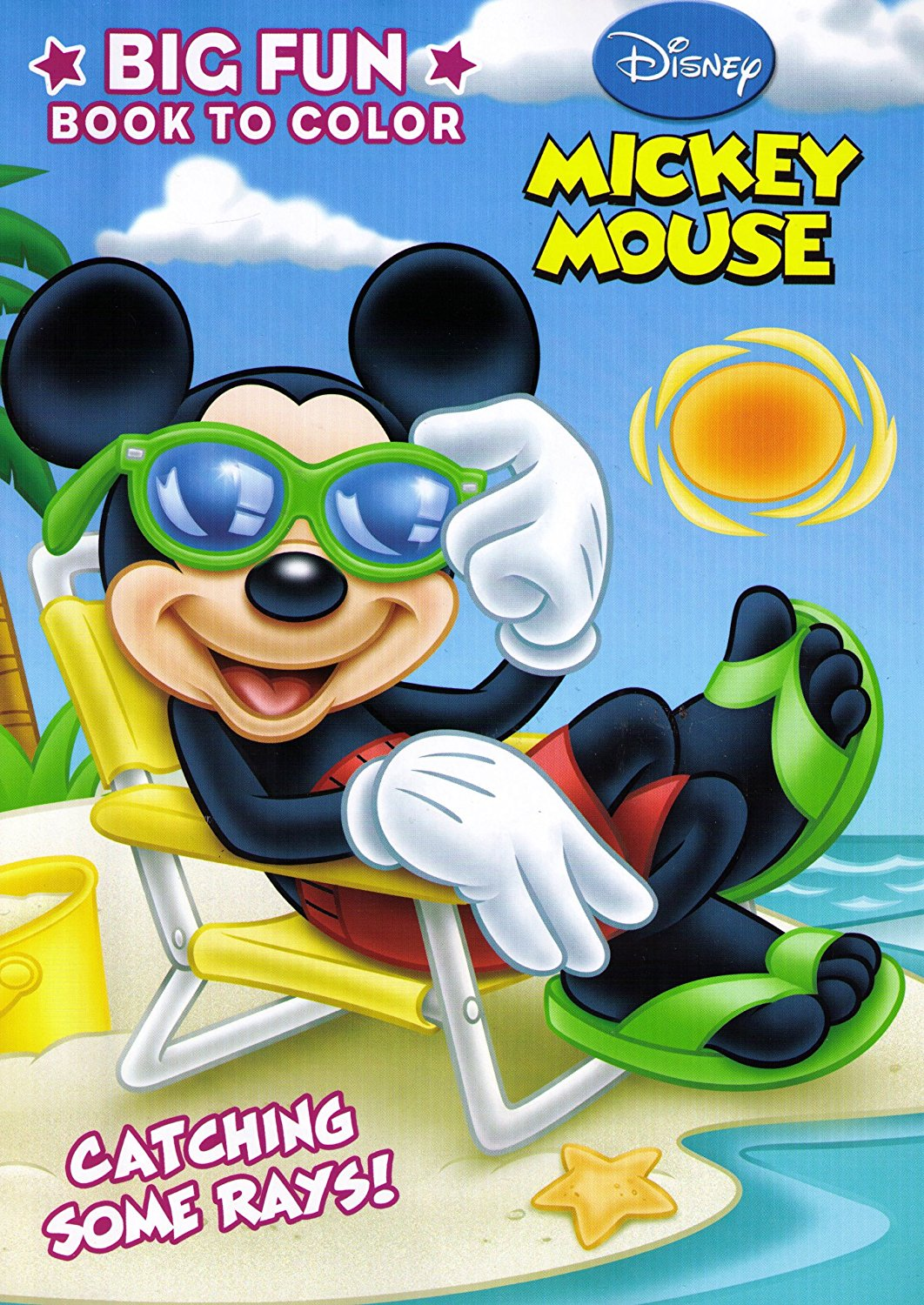 - Mickey Mouse Clubhouse Big Fun Coloring Book, One Mickey Or Minnie Coloring  Book, Sorry No Style Selection By Dalmatian Press - Walmart.com -  Walmart.com