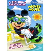 Mickey Mouse Clubhouse Big Fun Coloring Book, One Mickey Or Minnie Coloring Book, sorry no style selection By Dalmatian Press