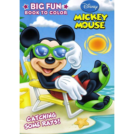 Mickey Mouse Clubhouse Big Fun Coloring Book, One Mickey Or Minnie Coloring Book, sorry no style selection By Dalmatian Press - Minnie And Mickey Mouse Halloween Coloring Pages
