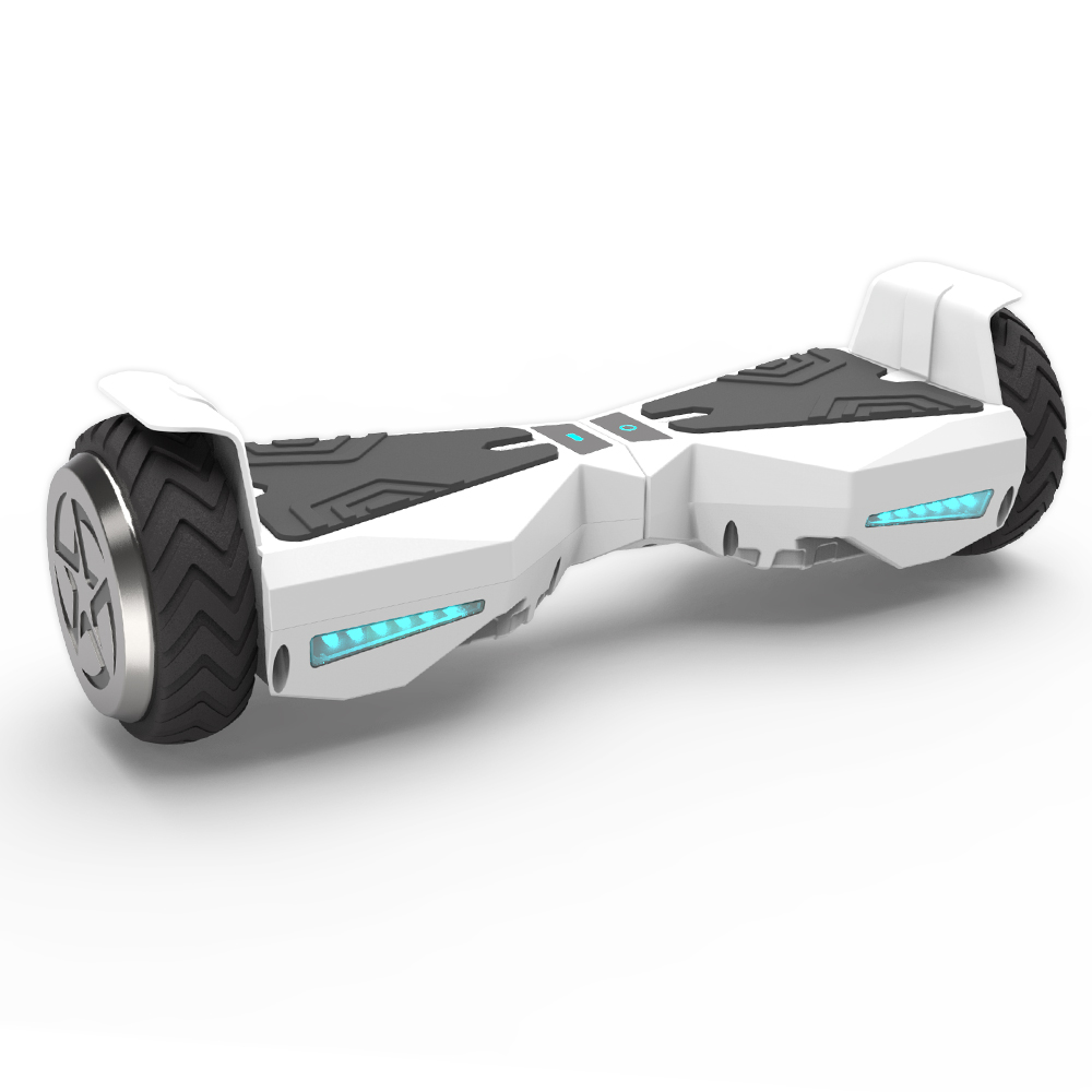 "Hoverboard 6.5"" UL 2272 Listed Two-Wheel Self Balancing Electric Scooter with LED Light Red"
