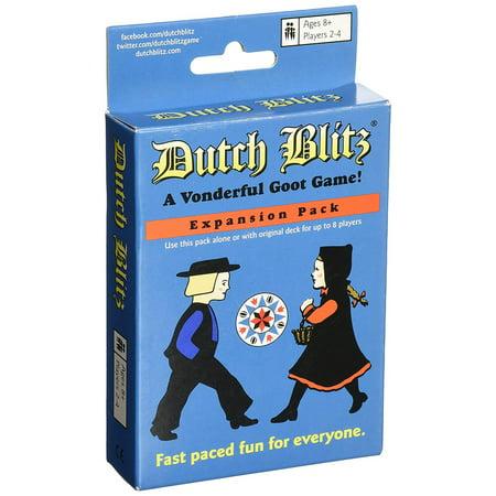 Dutch Blitz Blue Expansion Pack Dutch Card Game