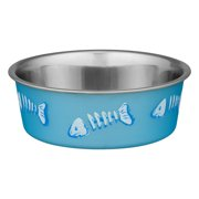 Loving Pets Bella Bowls Stainless Steel Small Blue Cat Bowl