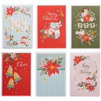 American Greetings 48-Count Blank Holiday Greeting Card Value Bundle