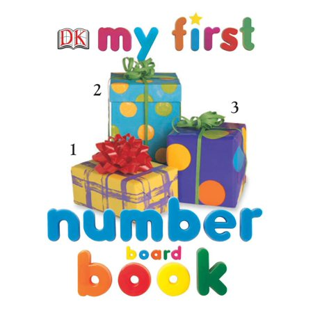 My First Number Board Book - Number Book