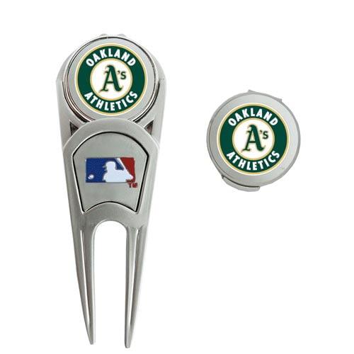 Oakland Athletics WinCraft Ball Marker, Hat Clip & Repair Tool Set - No Size