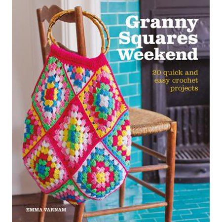 Granny Squares Weekend : 20 Quick and Easy Crochet Projects - Quick And Easy Preschool Halloween Crafts