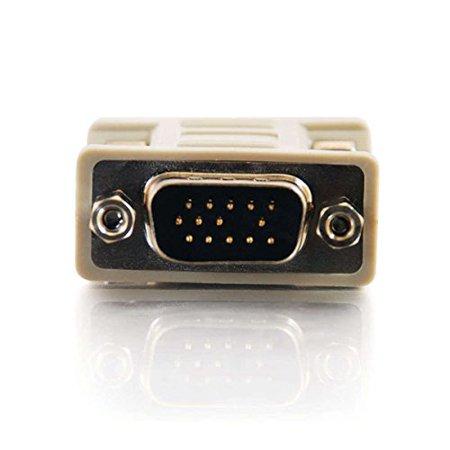 C2G / Cables To Go 02752 HD15 M/M VGA Gender Changer (Coupler) (Go Fiber Coupler)