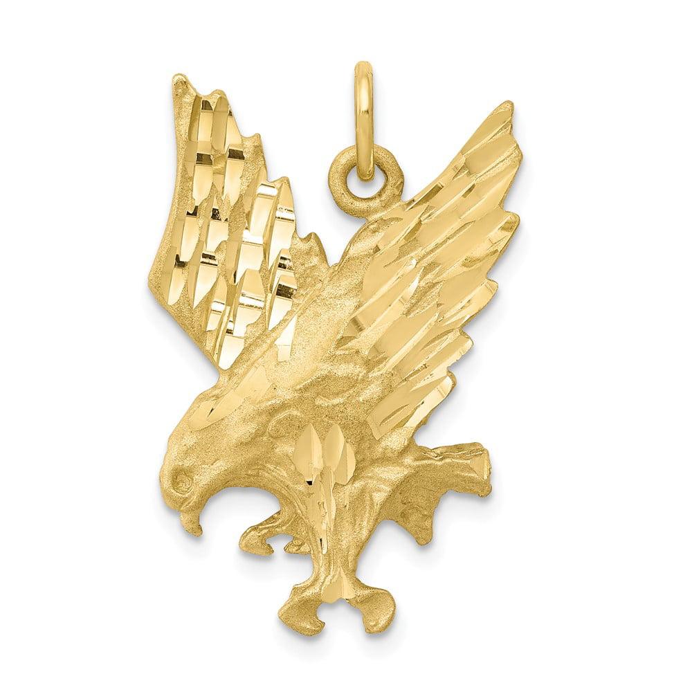 10k Yellow Gold EAGLE Pendant