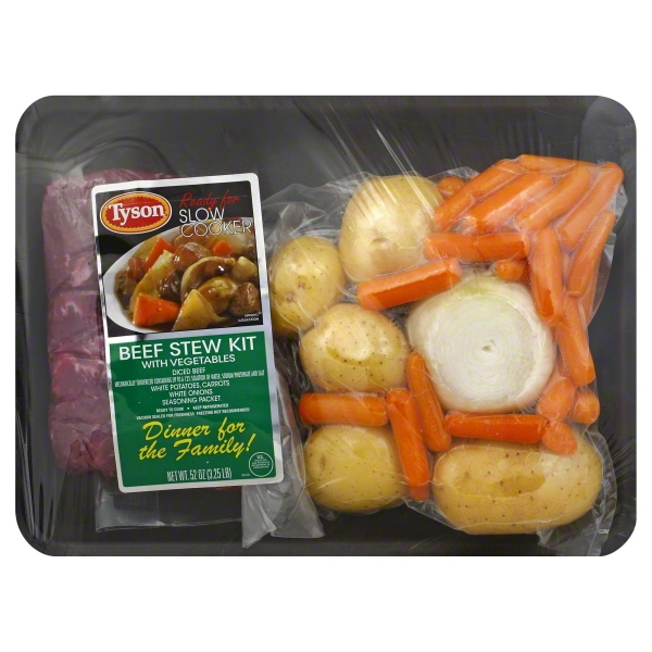 Tyson Beef Stew Kit with Vegetables, 52 oz