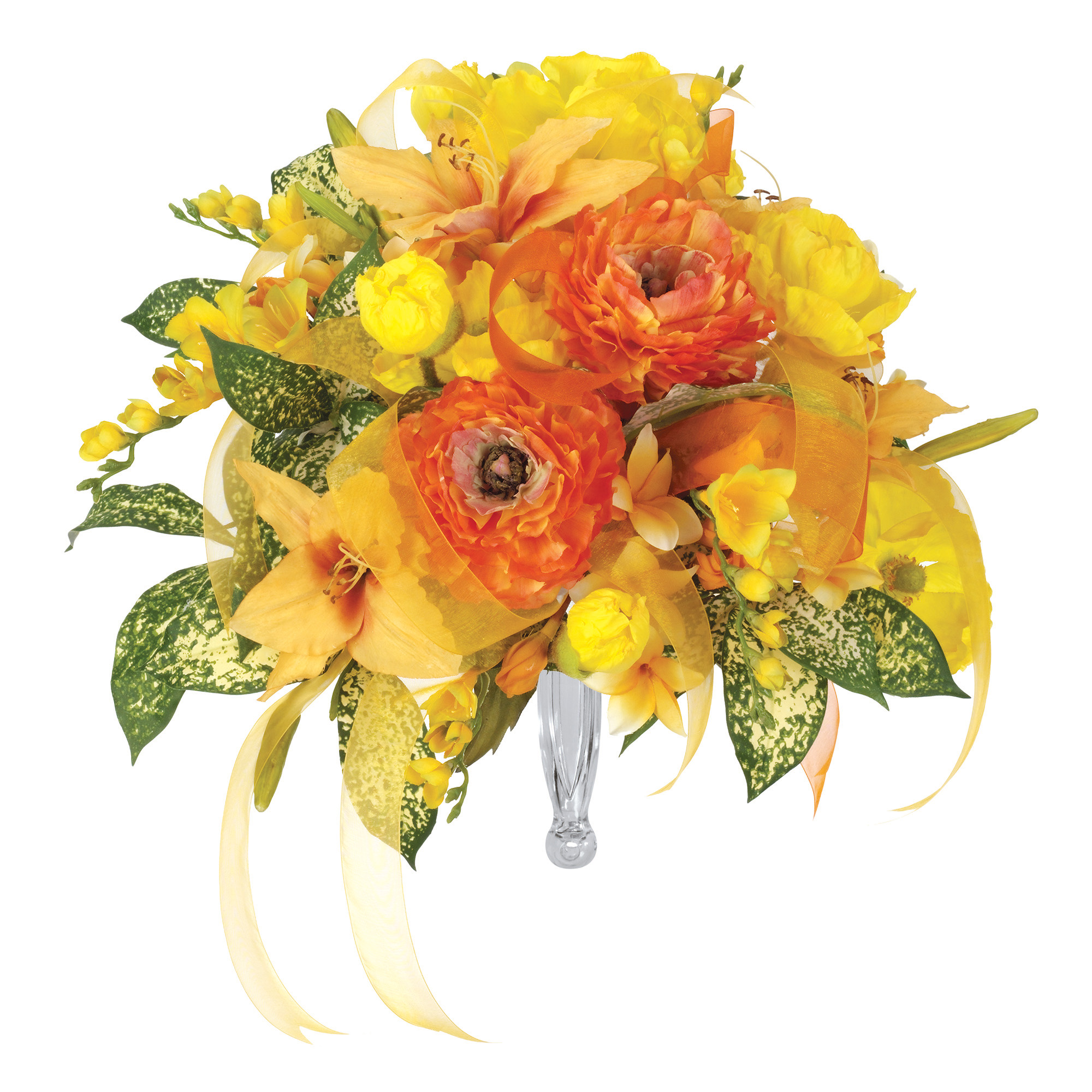 Gala Bouquet Holder For Fresh Flowers - Flowers Healthy