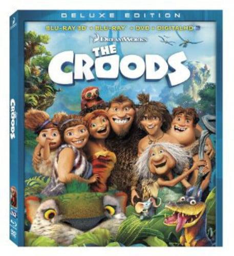 The Croods (Blu-ray 3D + Blu-ray + DVD + Digital HD)