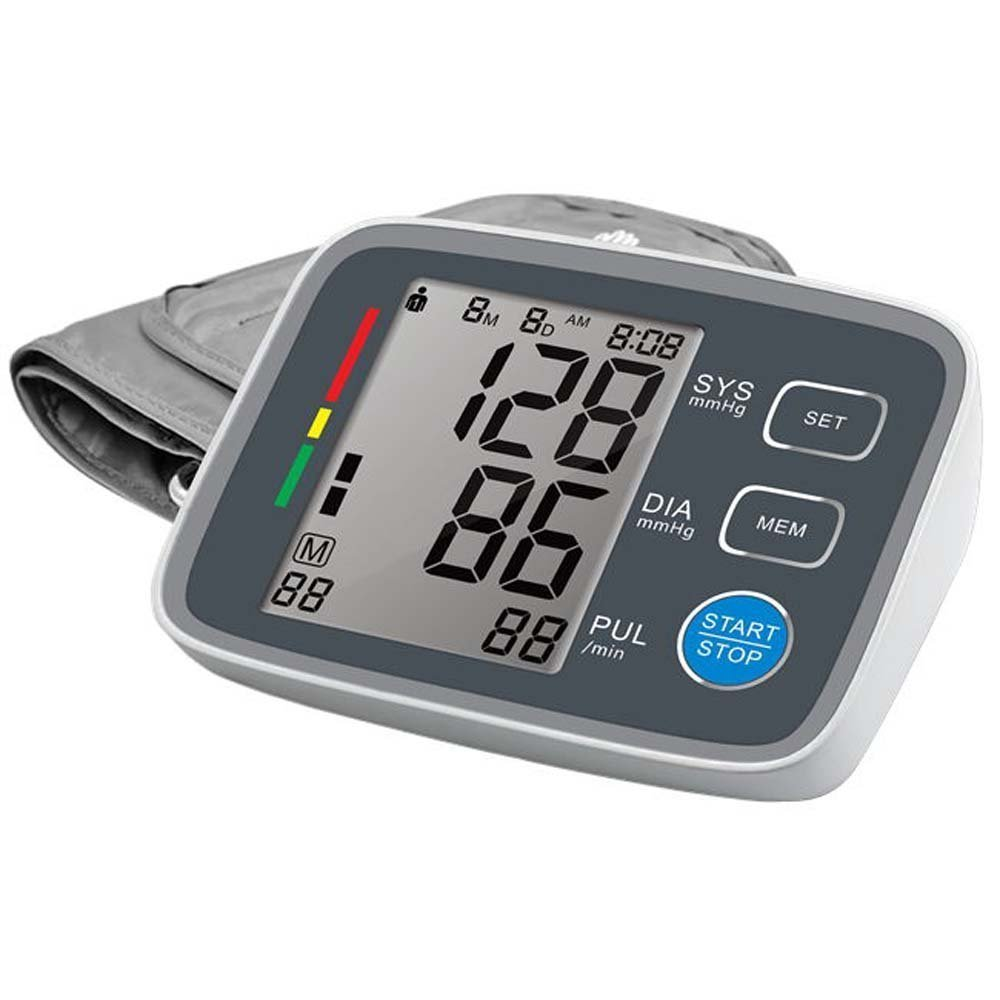 Automatic Digital Upper Arm Blood Pressure Monitor Clinically Validated Sphygmomanometer