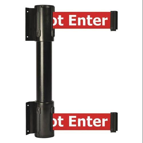 TENSATOR 896T2-33-STD-RIX-C Belt Barrier, 7-1/2ft, Danger-Do Not Enter