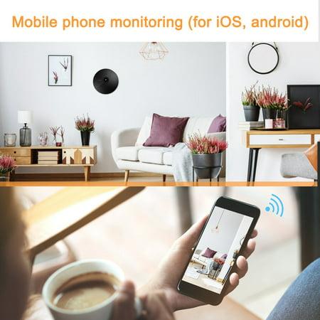 Herwey 1080P Smart WiFi Camera Network Surveillance Cube Camera Security Monitor, 1080P Cube Camera, Surveillance Cube Camera - image 6 of 8