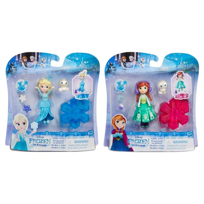Hasbro HSBB9249 Frozen Small Doll with Basic Features, Assorted Colors Set of 8 by Hasbro
