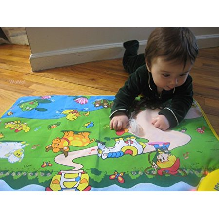 WolVol Musical Play Mat for Baby Toddlers Kids, Crawling Baby Toy Learning Development, Animals and Farm Activity Sounds - image 1 de 1