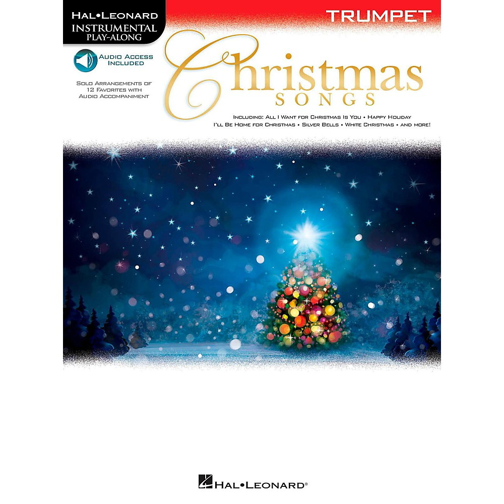 Hal Leonard Christmas Songs  for Trumpet -Audio Online