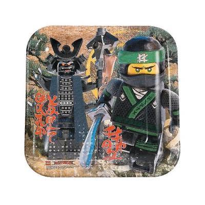 LEGO Ninjago Paper Dinner Plates 8 Piece(s)/PK 2PK