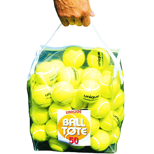 Unique Pressureless Ball 50pc Carry Pouch