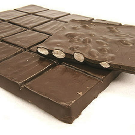 - Asher's Sugar Free Almond Bark Dark Chocolate Candy 1 pound