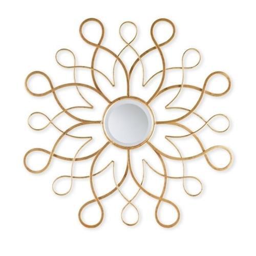 Southern Enterprises Livani Decorative Mirror in Antique Metallic Gold