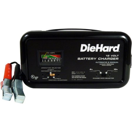 Diehard 10 2 Amp Battery Charger Walmart Com