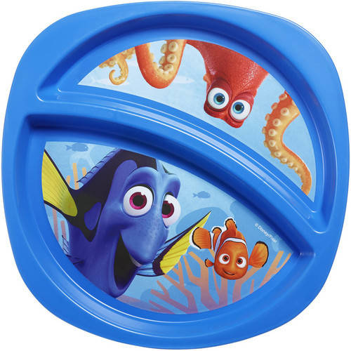 The First Years Disney Pixar Finding Dory Plate, 1.0 CT