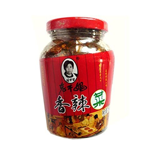 One NineChef Spoon + Lao Gan Ma (LaoGanMa) Chili Sauces (Chili Oil Chinese Cabbage (???) 12 Pack)