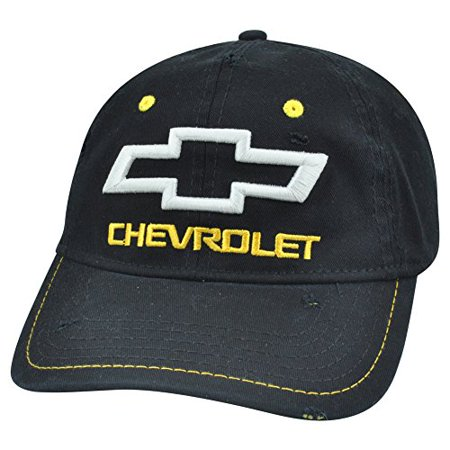 Chevrolet GM Chevy Distressed Black Flex Fit One Size Stretch Car Brand Hat Cap](Chef's Hat)