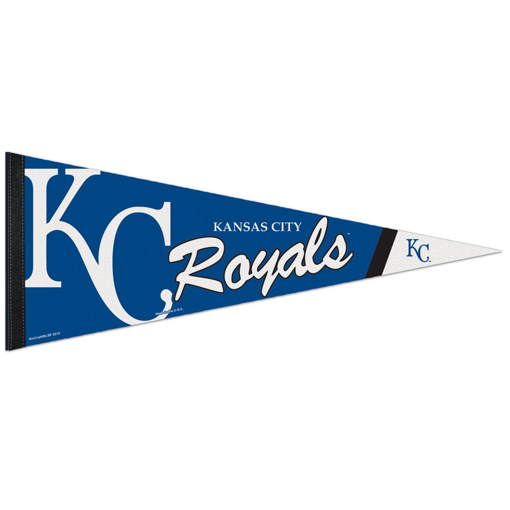 Kansas City Royals Official MLB 12 inch  x 30 inch  Premium Pennant by Wincraft