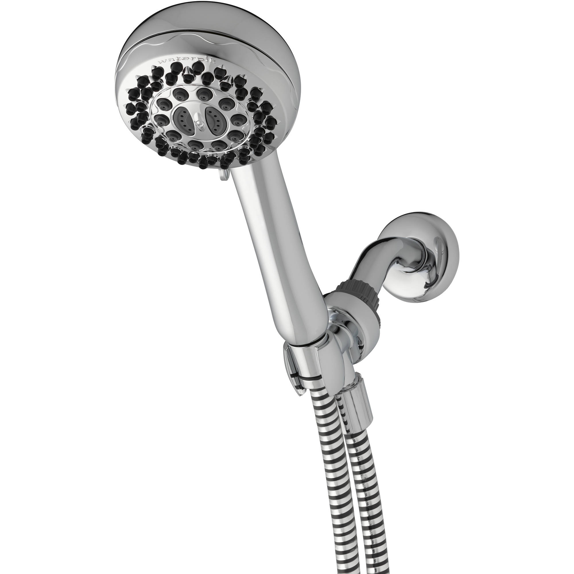 Waterpik PowerPulse 7-Mode Hand-Held Shower Head, Chrome XAC-763
