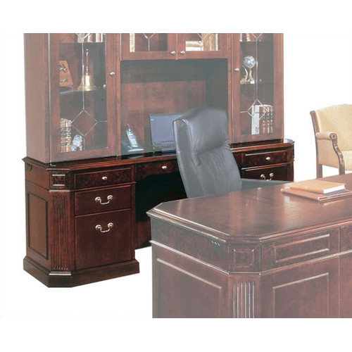Flexsteel Contract Oxmoor Executive Desk with out Return Moulding