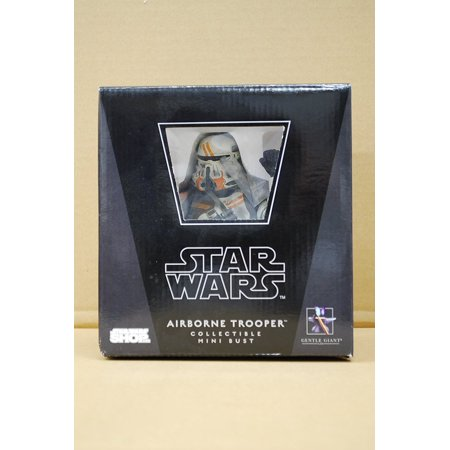 - Star Wars Airborn Trooper Collectible Mini Bust from Gentle Giant Studios