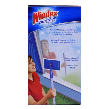 Windex Outdoor All In One Glass Cleaning Tool 1 Kt Best