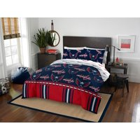 NHL Washington Capitals Queen Bed In Bag Set