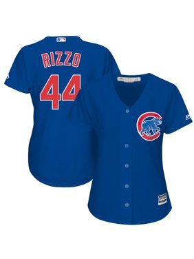 Chicago Cubs Majestic Women's Cool Base Player Jersey - Royal