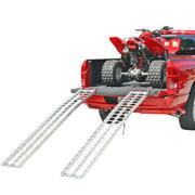 "Black Widow IA-9012-2 Aluminum 7' 5"" Arched ATV Ramps"