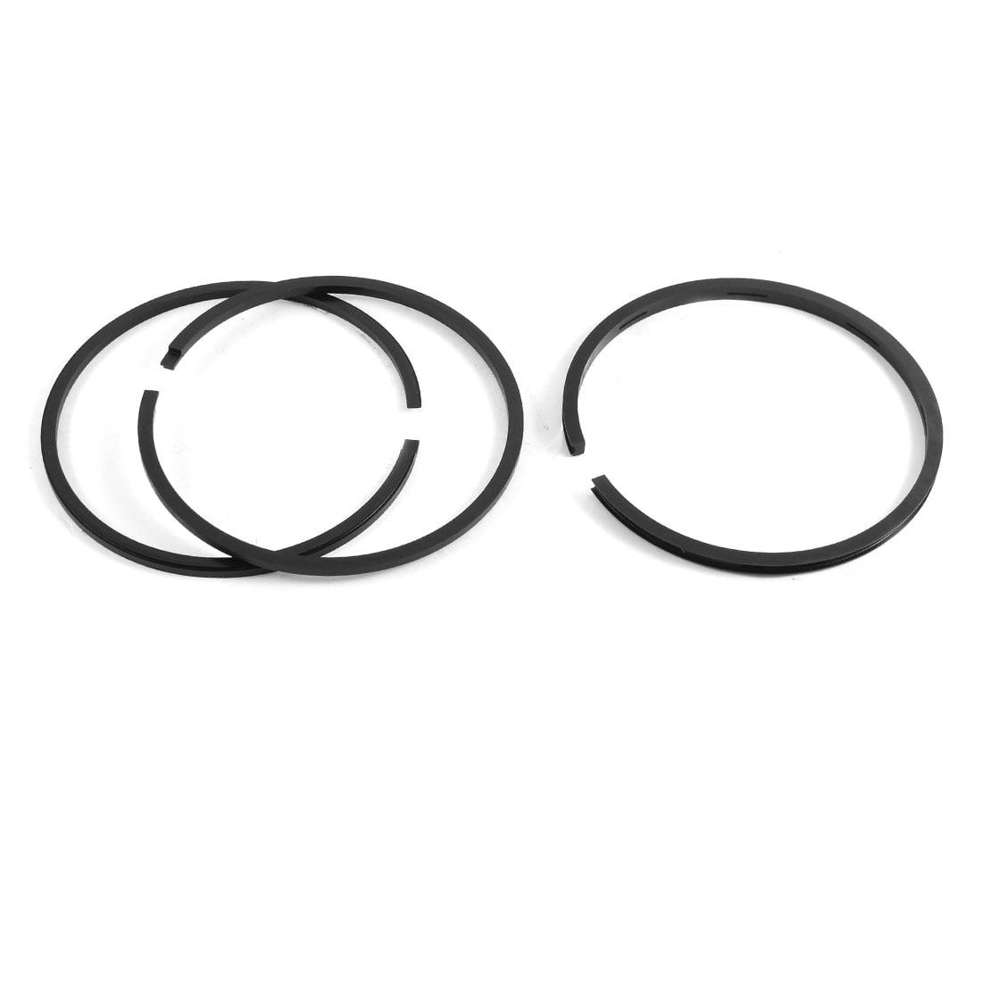 Air Compressor 90mm Dia Balance Sealing Piston Rings Set 3 Pcs