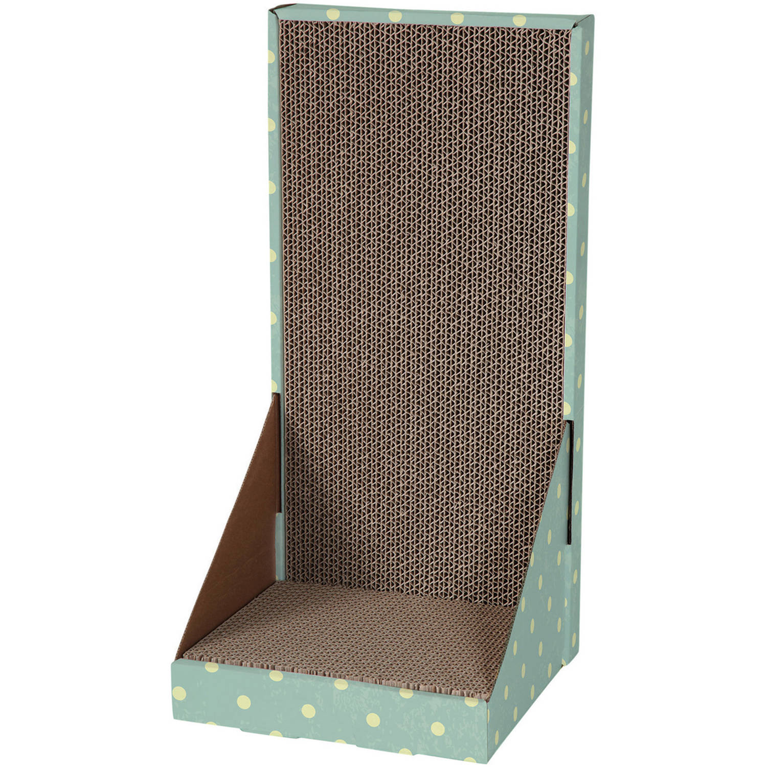 Cat Love L-Form Scratcher Den with Catnip Cat Toy by Cat Love